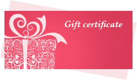 BLISS offers wide selection of Gift Certificates that satisfy even the most exquisite taste, clients' expectations and budget.